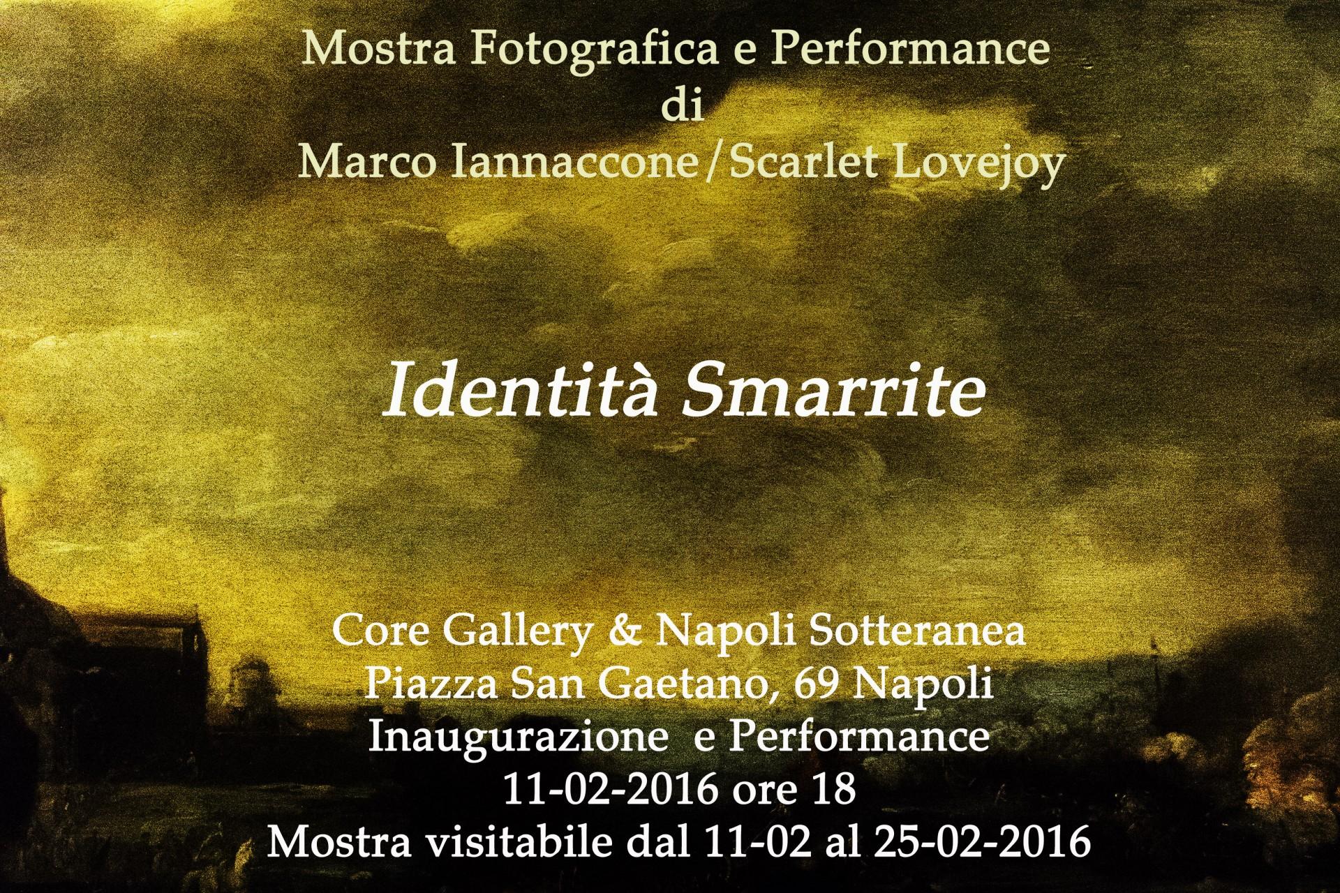 Marco Iannaccone / Scarlet Lovejoy